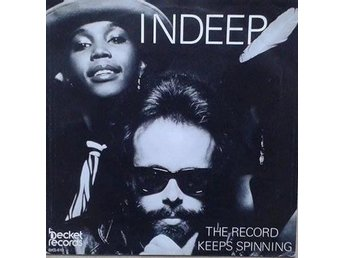 Indeep title*  The Record Keeps Spinning* Disco Scandinavia 7""