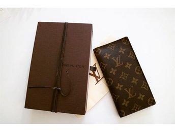 Louis Vuitton plånbok monogram ink kvitto. Nyskick - Mjölby - Louis Vuitton plånbok monogram ink kvitto. Nyskick - Mjölby