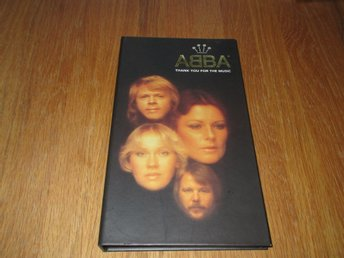 ABBA 4CD-BOX THANK YOU FOR THE MUSIC (LIMITED EDITION) RARE!
