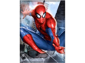 Spiderman Spindelmannen Filt Fleecefilt 100 x 140cm