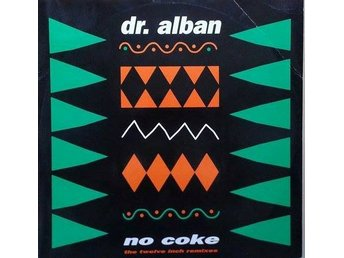 Dr. Alban titel* No Coke* Euro-disco, Hip-House Swe 12""