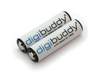 Digibuddy 18650 Batteri 2-pack 2600mAh