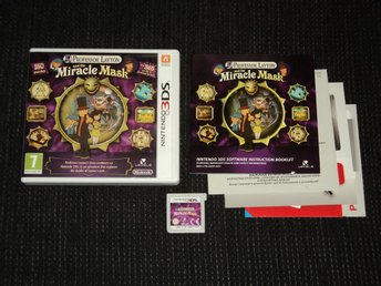 3DS Professor Layton and the Miracle Mask