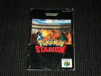 N64 Pokemon Stadium Manual