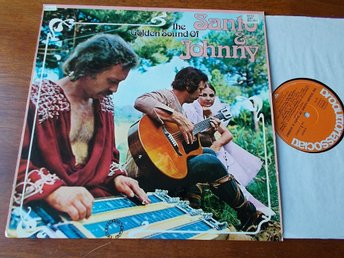 SANTO & JOHNNY - Golden sound of, LP  Produttori Associati 1976 Tyskland