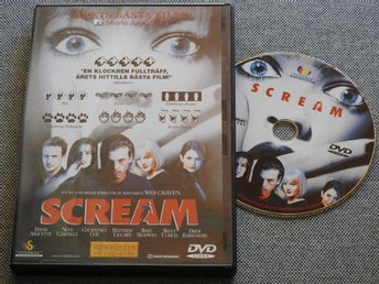 Scream DVD David Arquette, Neve Campbell, Courtney Cox, Drew Barrymore