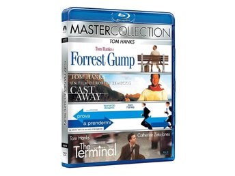 TOM HANKS COLLECTION Blu-ray CAST AWAY, FORREST GUMP m.fl. *4-Filmer* Sv. text