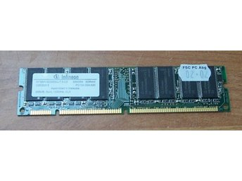 RAM MINNE Infineon  256MB PC133 DIMM CL3