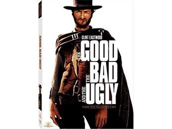 The Good, the Bad & the Ugly Collector's Edition DVD ( USA ) Ny inplastad