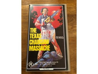 Texas chainsaw massacre VHS