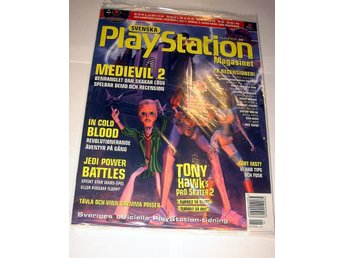 PLAYSTATION Mag  Nr30  HELT NY med CD JUN2000  MEDIEVIL 2