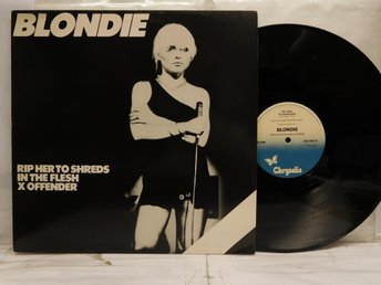 BLONDIE - RIP HER TO SHREADS - MAXI