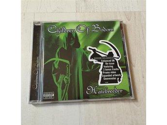 CHILDREN OF BODOM - HATEBREEDER. INPLASTAD CD. - Frövi - CHILDREN OF BODOM - HATEBREEDER. INPLASTAD CD. - Frövi