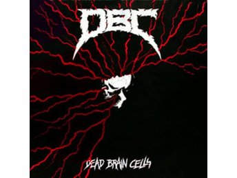 D.B.C. -Dead Brain Cells lp Canadian crossover War on Music - Motala - D.B.C. -Dead Brain Cells lp Canadian crossover War on Music - Motala