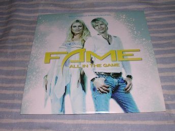 FAME - All In The Game (cds) OS-låt nyskick!!