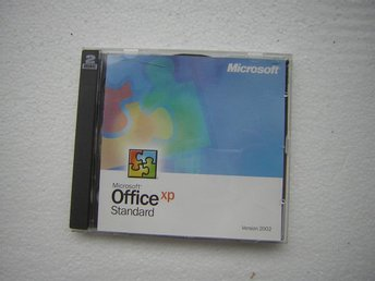 MICROSOFT OFFICE XP STANDARD 2002