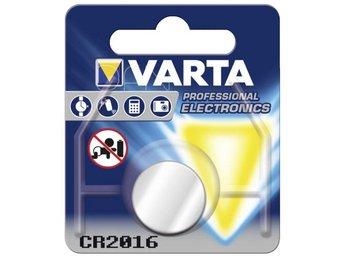 1 Varta electronic CR 2016 - Höganäs - 1 Varta electronic CR 2016 - Höganäs