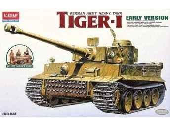 Academy 1/35 Pz.Kpfw.VI Tiger I Early Production w/Figures - Skoghall - Academy 1/35 Pz.Kpfw.VI Tiger I Early Production w/Figures - Skoghall