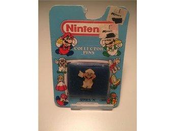 "Nintendo Collector Pins 1989 ""Luigi Standing"" - København ø - Nintendo Collector Pins 1989 ""Luigi Standing"" - København ø"