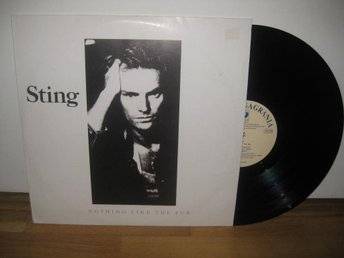 STING - ...nothing like the sun 2-LP 1987/1990 / Polen