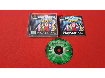 POWER RANGERS RESCUE till Sony Playstation PSone