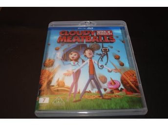 Blu-ray 3D: Cloudy with a chance of meatballs