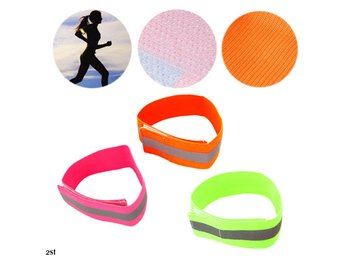 Reflexarmband - Orange - Dubbelpack