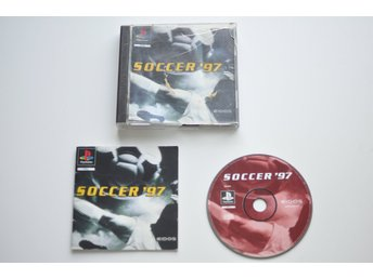 Soccer 97 till Playstation 1 (PS1, PSone)