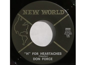 Vinylskiva med Don Force