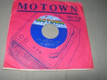 JACKSON 5- The Love You Save/ I Found That Girl US-70 MOTOWN