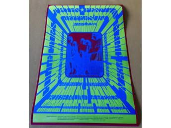 JEFFERSON AIRPLANE TRIPS FESTIVAL RICHMOND 1967 PHOTO POSTER