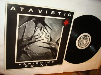 ATAVISTIC RARE LP VANISHING POINT  F/O  ENGLAND 1990  DEAF 3