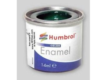 Humbrol enamel 14ml : 156 Satin Dark Camouflage Grey - Lund - Humbrol enamel 14ml : 156 Satin Dark Camouflage Grey - Lund