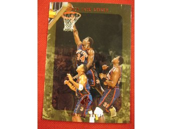 CHARLES OAKLEY - SP AUTHENTIC 1997-98 - NEW YORK KNICKS - BASKET