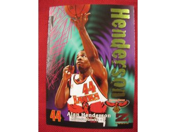 ALAN HENDERSON  - 1997-98 Z-FORCE - ATLANTA HAWKS - BASKET
