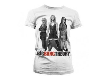 Big Bang Theory T-shirt Girl Power Dam XL
