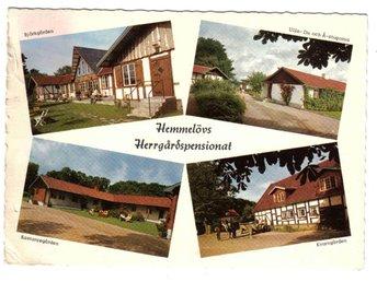 Hemmeslöv - Herrgårdspensionat - Segeltorp - Hemmeslöv - Herrgårdspensionat - Segeltorp