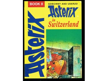 Asterix in Switzerland book 8 (På engelska)