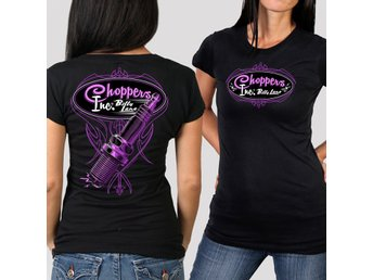 Official Choppers Inc Spark Plug Ladies T-Shirt XXL.