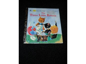 a first little golden book - The Three Little kittens