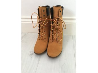 Javascript är inaktiverat. - Vedum - Timberland skor, st.40, men små i storlek, motsvarar 39. Jag har provat skorna en gång, tyvärr är skorna för höga för mig. - Vedum