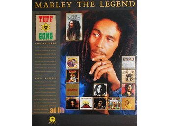 BOB MARLEY - MARLEY THE LEGEND, TIDNINGSANNONS 1990