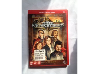 DVD - The Three Musketeers