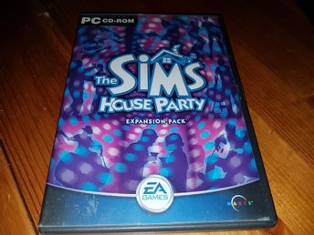 The Sims 2. House Party. Exp paket. Pc spel.