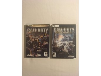 Call of Duty + Expansionen United Offensive - PC - KOMPLETT