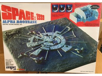 SPACE 1999    ALPHA MOONBASE         MPC Byggsats