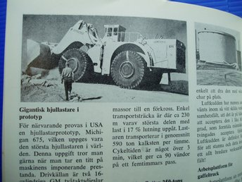 Ä.Tidskrift Transport Teknik nr 5/1971..MICHIGAN 675-DALÄLVEN   m.m.