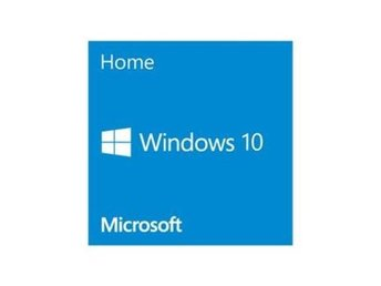 Microsoftr Windows 10 Home English 64-bit, Single OEI, DVD
