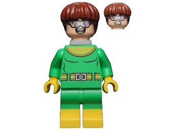 LEGO  Figurer - Superheroes Spiderman Doc Ock Grön Gul