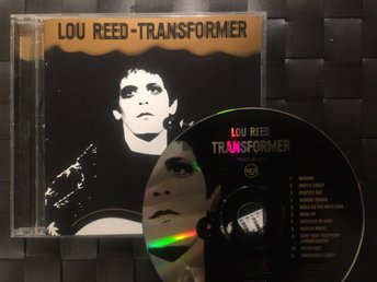LOU REED - Transformer - Remastrad 1972/1998, Bowie, Iggy Pop
